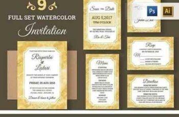 1804145 Watercolor Wedding Invitation 1511756 3