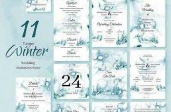 1804148 Winter Forest Wedding Invitations 2229293 7