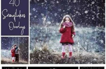 1804150 40 Dreamy Snowflakes PNG Overlays 2185552 3