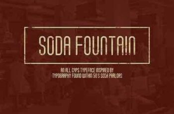 1804171 Soda Fountain Typeface 1487570 4
