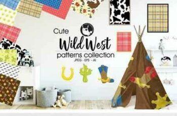 1804175 WILD WEST Pattern collection 2018418 4