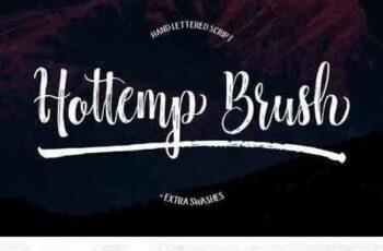 1804187 Hottemp Brush - Font Duo 1949042 5