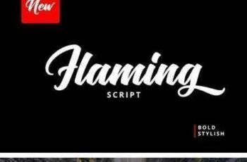 1804211 Flaming Script 1970554 8