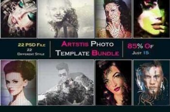 1804212 Artstic Photo Template Bundle 683413 5