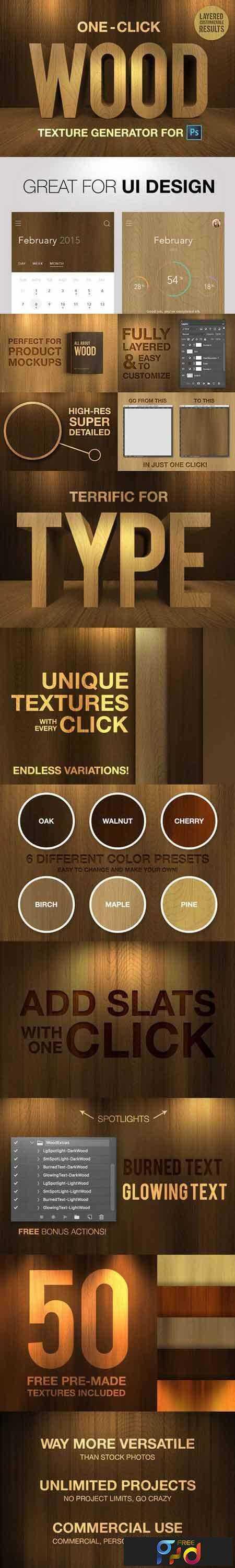 1804221 Wood Texture Generator - One Click 644331 - FreePSDvn