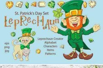 1804238 Leprechaun – St. Patrick's Day Set 2231895 6