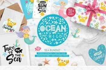 1804240 Ocean Child Sea Bundle 2232430 7
