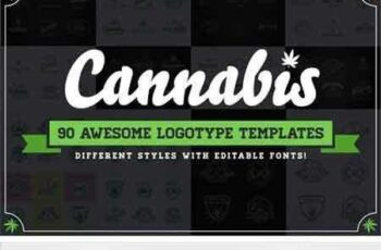 1804267 Awesome Cannabis Logotype Templates 2182057 7