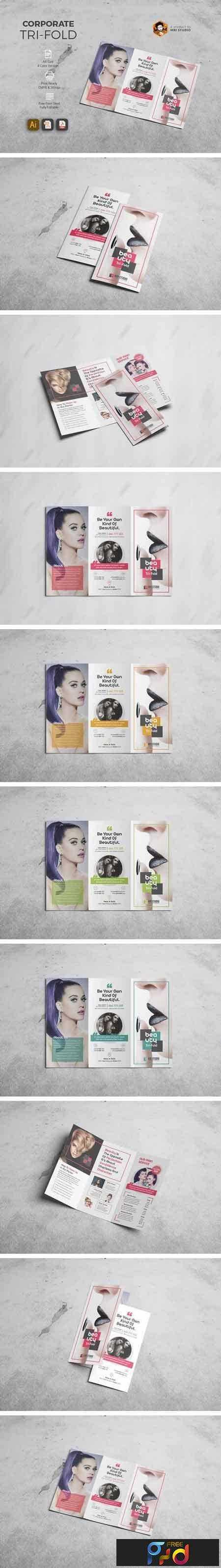 1804268 Beauty Tri-Fold Brochure 1512570 1