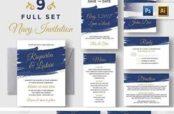 1804279 Navy Blue Invitation Suite 1508830 4