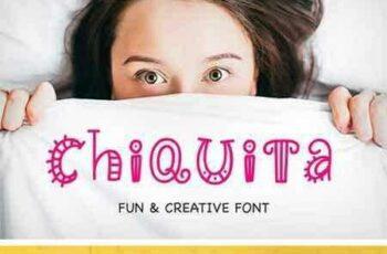 1804298 Chiquita Hand Written Font 2271701 5