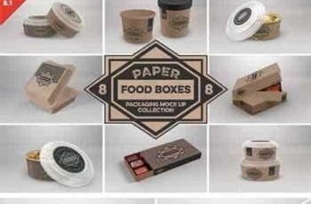 1805029 VOL.8 Food Box Packaging Mock Ups 2088334 5