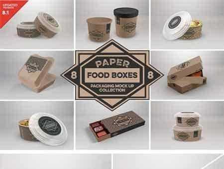 1805029 Vol 8 Food Box Packaging Mock Ups 2088334 Freepsdvn