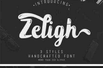 1805033 Zeligh Font 69934 13