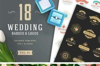 1805038 18 Wedding Logos and Badges 219973 3