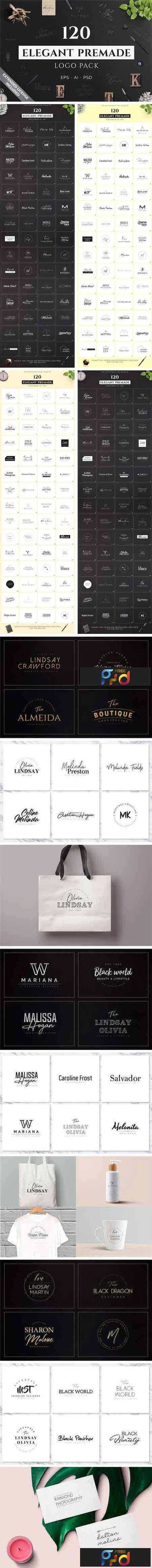 1805039 120 Elegant Premade Logo Pack 2182037 1