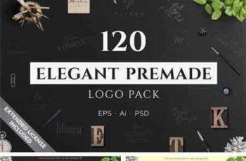 1805039 120 Elegant Premade Logo Pack 2182037 7