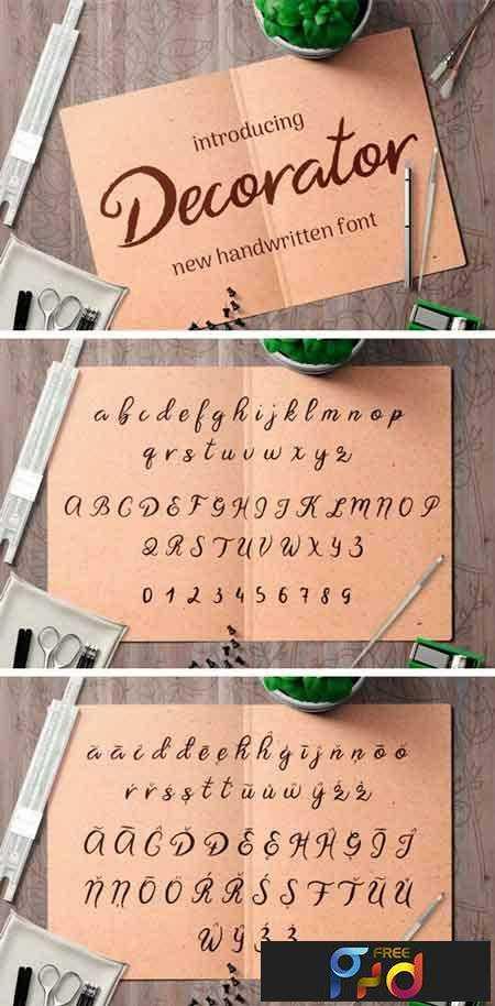 1805048 Decorator Font 1
