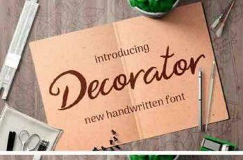 1805048 Decorator Font