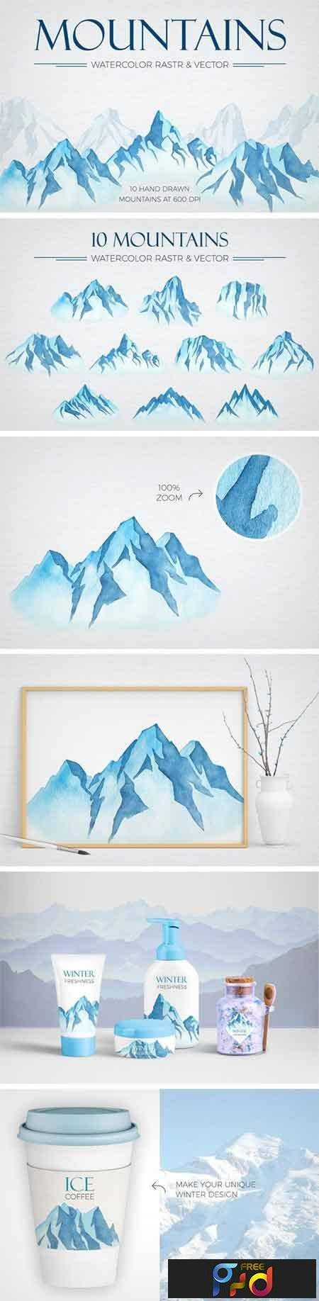1805062 Watercolor Winter Mountains 2249134 1