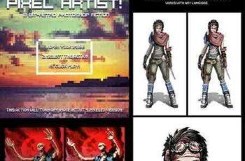 1805077 Pixel Artist - 8 Bit Retro - Photoshop Action 21617723 5
