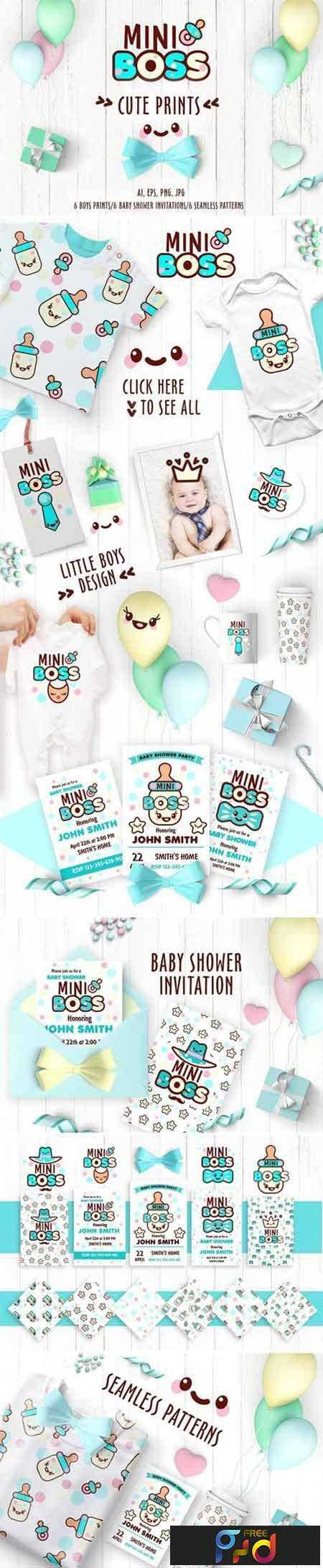 1805090 Collection of cute prints for boys 2258151 1