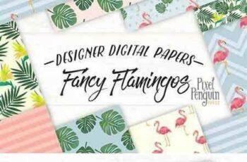 1805091 Fancy Flamingos Patterns 2257917