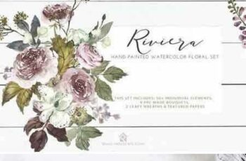 1805102 Riviera - Hand-painted Watercolor 2257837 7