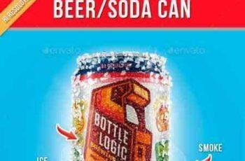 1805114 Beer Soda Can Mockup 21352984 7