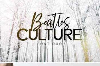 1805121 Beatles Culture - Font Duo 2223332 5