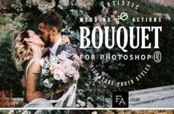 1805137 Bouquet Wedding Photoshop Actions 2170025 3