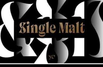 1805148 Single Malt Font 2206620 1