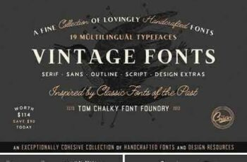 1805153 The Handcrafted Vintage Fonts Pack 2222539 6