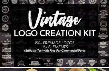 1805154 Vintage Logo Creation Kit 2023446 7
