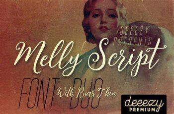 1805177 Melly Script Font Duo 2228359 7