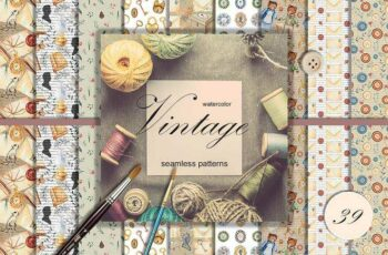 1805178 Vintage patterns collection 2257283 4