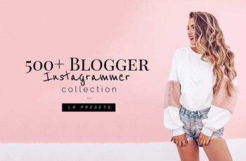 1805185 500+ Blogger Instagrammer LR Presets 1552610 5
