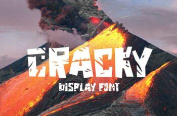 1805186 Cracky Display Font 2258057 6