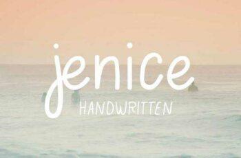 1805193 Jenice casual handwritten font 2230716 8