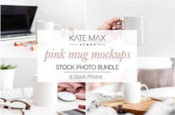 1805194 Pink Mug Mockups Photo Bundle 2219937 6