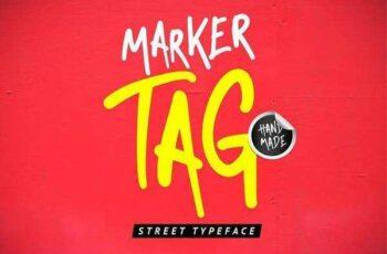 1805196 Marker Tag Display Font 2230046 7