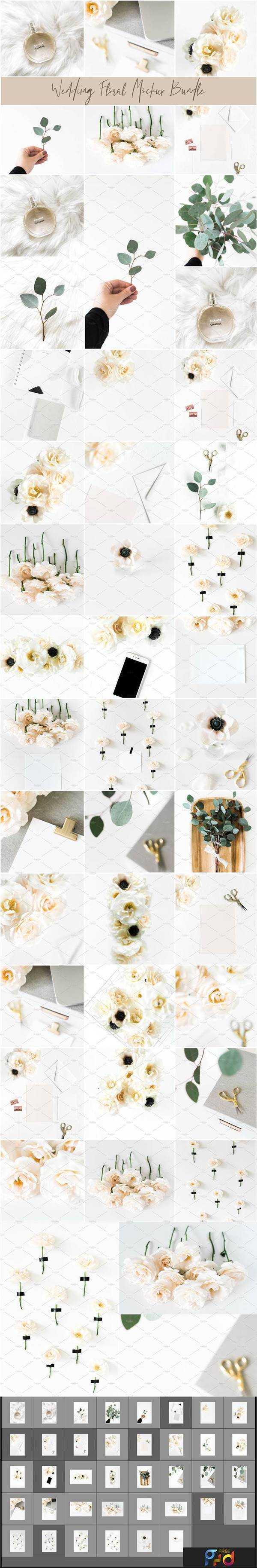 1805200 Wedding Mockup Floral Bundle 2227929 1