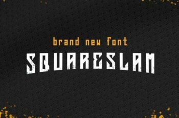 1805208 Squareslam sports and esports font 2257400 2