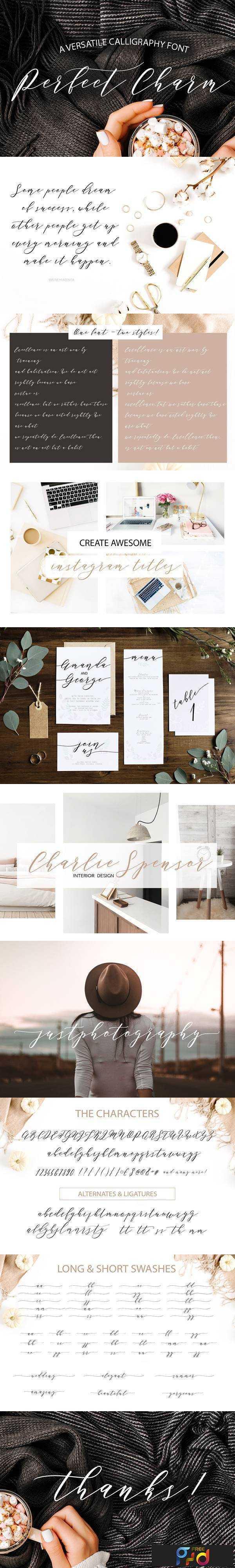 1805220 Perfect Charm - Elegant Font Script 2230345 1