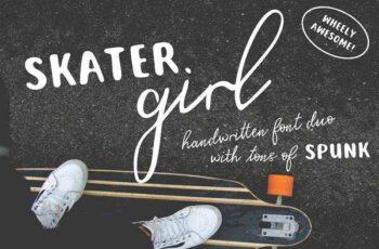 1805223 Skater Girl Font Duo 2229056 5