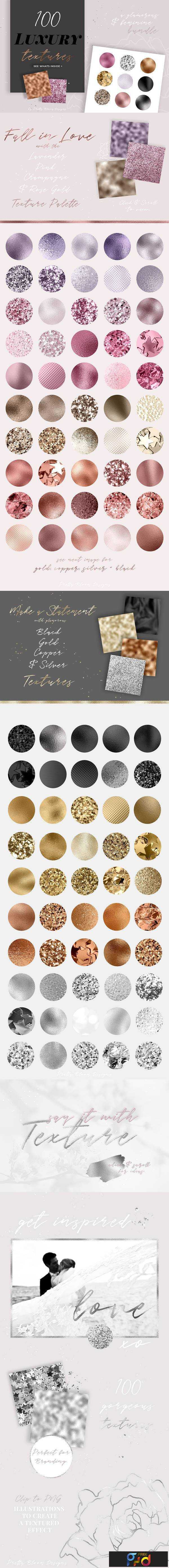 1805224 The Luxury Glam Texture Bundle 2165592 1