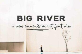 1805227 Big River a font duo 2255600 11