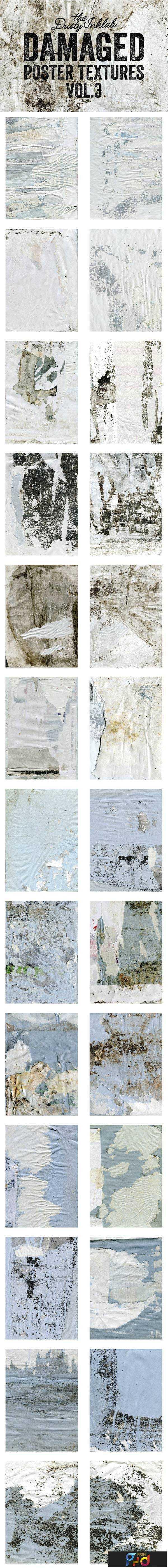 1805236 Damaged Poster Textures Vol. 3 2027238 1