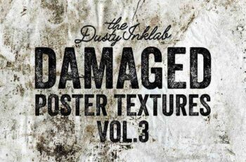 1805236 Damaged Poster Textures Vol. 3 2027238 6