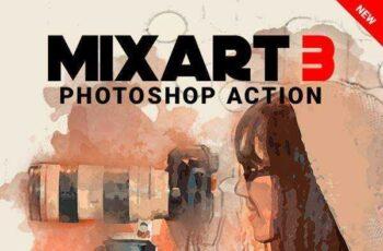 1805237 MixArt 3 Photoshop Action 21698959 7